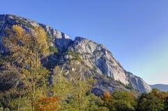 Closeup of a mountain Royalty Free Stock Photos