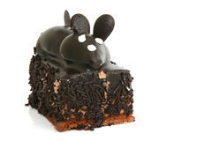 Closeup mouse cake Royalty Free Stock Photography