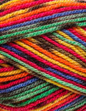 Multicolored yarn Royalty Free Stock Images