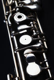 Closeup music instrument oboe Stock Image