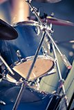 Closeup musical drums Royalty Free Stock Images