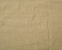 Closeup Natural linen fabric. Background Royalty Free Stock Image