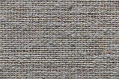 Closeup natural linen textile texture Stock Photography