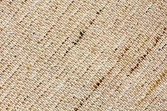 Closeup of natural linen texture. As a background Royalty Free Stock Image