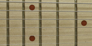 Closeup neck guitar stock images