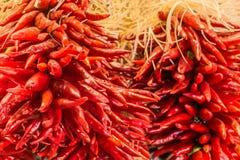 Closeup of New Mexico Chilies stock photos