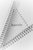 Closeup of notebooks Royalty Free Stock Photo