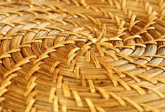 Free Closeup Of A Wicker Plate Stock Image - 11197281