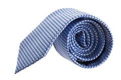 Closeup Of Blue Tie On Spyral Stock Photos