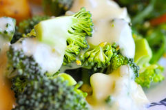 Closeup Of Broccoli Cuisine