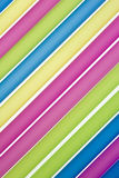 Closeup Of Drinking Straws Royalty Free Stock Images