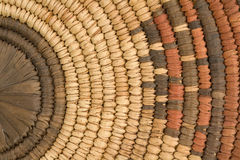 Closeup Of Indian Basket Royalty Free Stock Photos