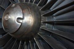 Free Closeup Of Jet Engine Intake Mechanism Royalty Free Stock Image - 48530766