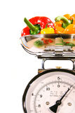 Closeup Of Kitchen Scale Stock Images