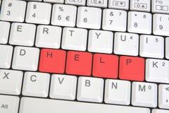 Closeup Of Laptop Keyboard Stock Photo