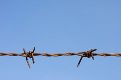 Free Closeup Of Rusty Barded Wired Stock Images - 28209364