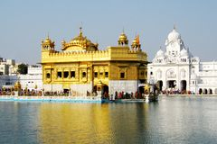 Closeup Of The Golden Temple, Amritsar Stock Images