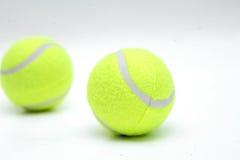 Closeup Of Two Tennis Balls Stock Image
