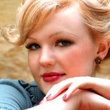 Closeup Of Woman Royalty Free Stock Photo