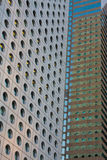 Closeup of Office Buildings Stock Photography