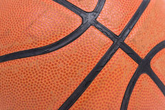 Closeup old basketball basket ball Royalty Free Stock Photography