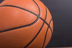 Closeup old basketball basket ball Royalty Free Stock Photography