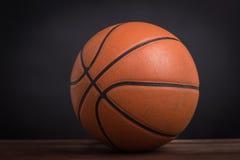 Closeup old basketball basket ball Stock Photography