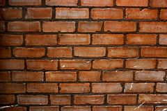 Old brick wall, background, texture, grunge royalty free stock photography