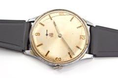 Closeup of old broken wristwatch Stock Photography
