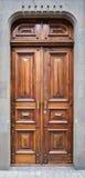 A closeup of an old door Stock Photos