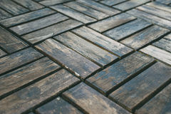 Closeup on old floor. Wooden background Royalty Free Stock Images
