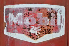 Closeup of Old Gas Pump Stock Images