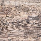 Closeup of old natural wood grunge texture. Dark surface with ol. D natural wooden pattern. Rustic table top view with copy space for text Stock Images