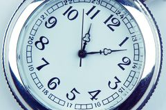 Pocket watch. Closeup of old pocket watch Stock Photos