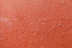 Red surface. Stock Photo