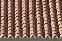 Closeup of old roof tiles Stock Photos