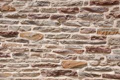 Closeup of an Old Stone House Royalty Free Stock Photography