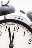 Closeup of old style alarm clock Royalty Free Stock Image