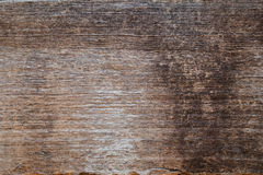 Closeup of an old teak board Royalty Free Stock Photo