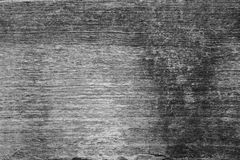 Closeup of an old teak board. Close-up of an old teak board texture background in black&white Stock Image