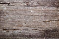 Closeup of an old teak board wall Stock Photography
