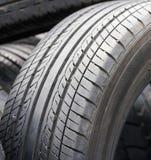 Closeup old tires Stock Photo