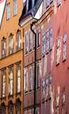 Closeup of Old Town buildings. Royalty Free Stock Image
