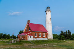 Tawas Point lighthouse Stock Photography