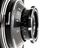 Closeup of old viewfinder camera Royalty Free Stock Images