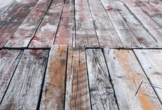 Closeup of old wood planks texture Royalty Free Stock Photos