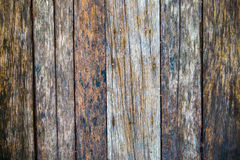 Closeup of old wood planks texture background Stock Photography