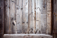 Closeup of old wood planks Royalty Free Stock Image