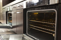 Closeup Of Open Oven Stock Photos