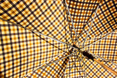 Closeup of Open Retro Patterned Umbrella 1 Royalty Free Stock Photos